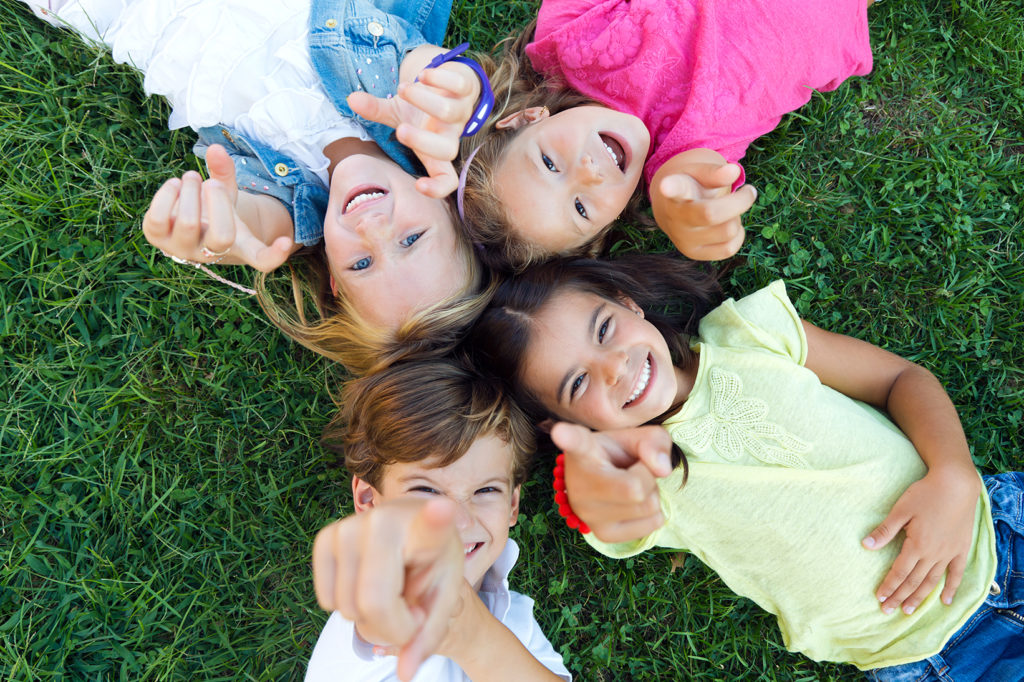 group-of-childrens-having-fun-in-the-park